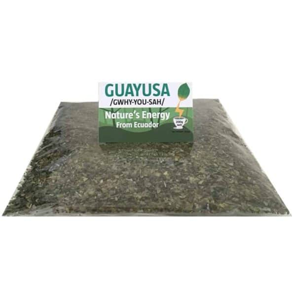Guayusa loose leaf 200g refill