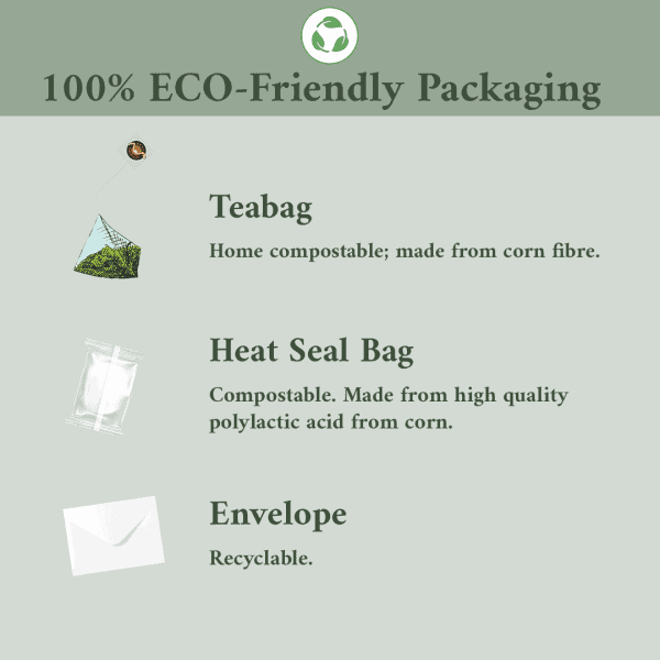 100%eco friendly packaging- athlete's brew