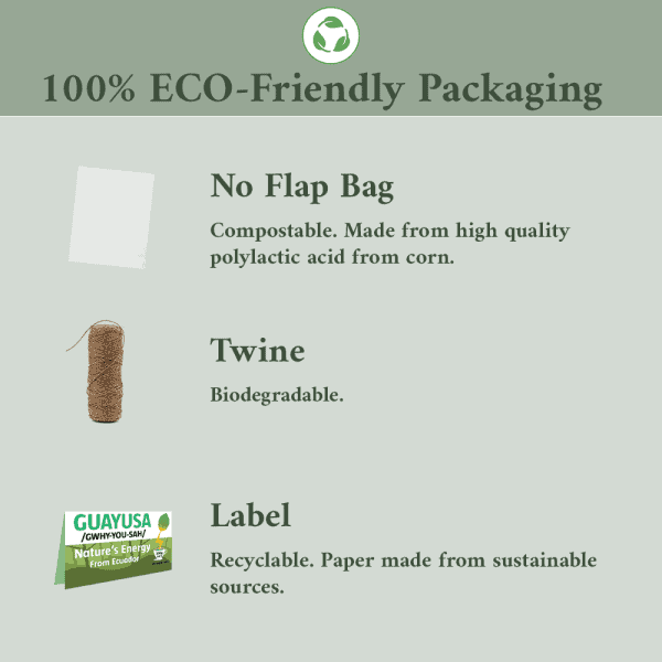 200gGuayusa - eco-friendly packaging