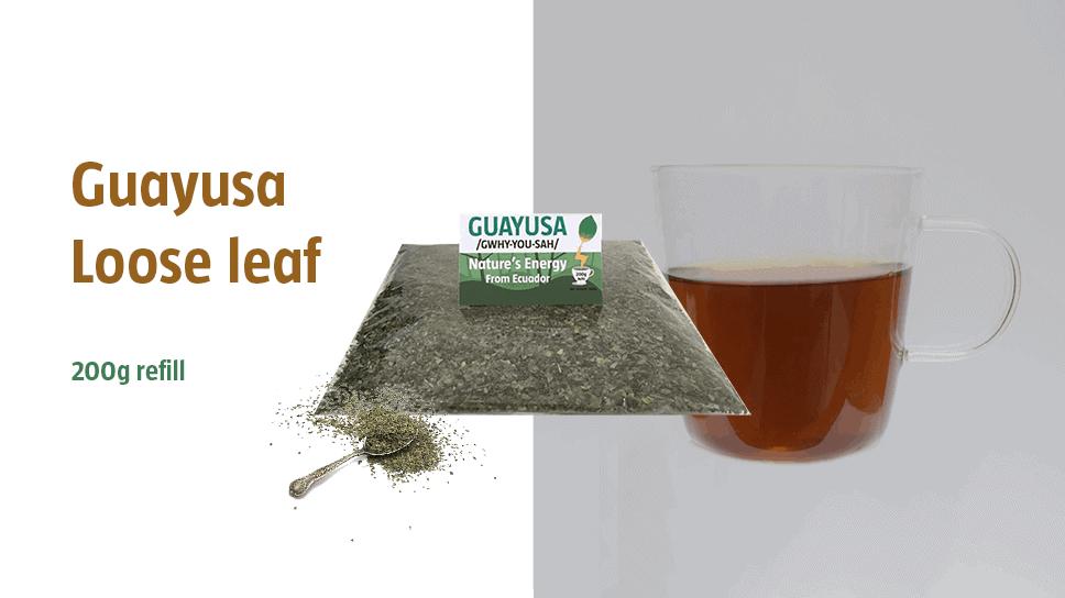 Guayusa tea loose leaf 200g refill